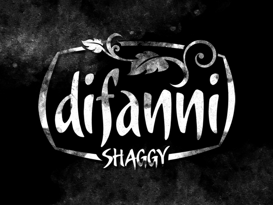 Difanni Shaggy Carpet Logo Design