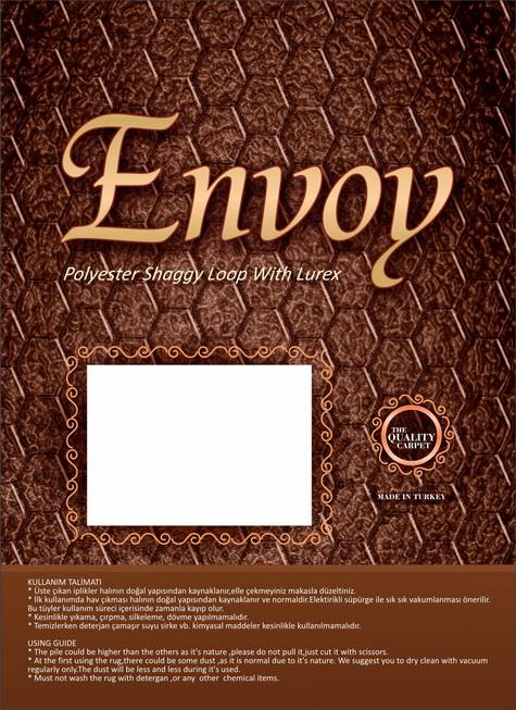 Envoy Halı Etiket Tasarımı