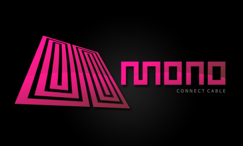 Mono Connect Cable Logo Design
