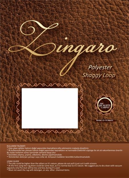 Zingaro Halı Etiket Tasarımı