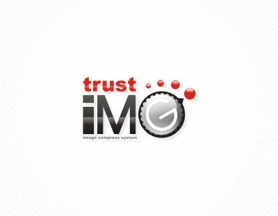 Trust IMG Image Compress System Logo Design