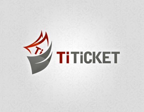 TiTicket Logo Design