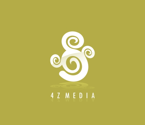 4Z Media Logo Design