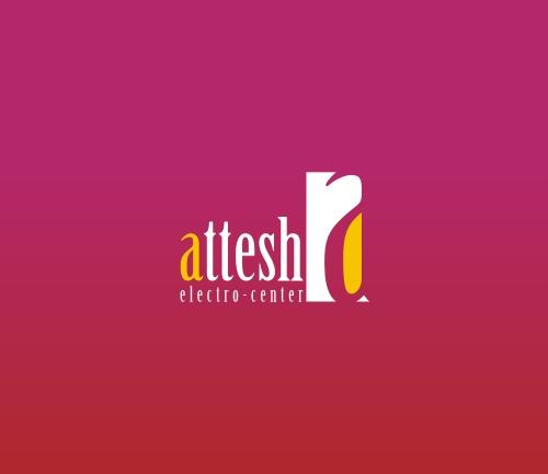 Attesh ElectroCenter Logo Design