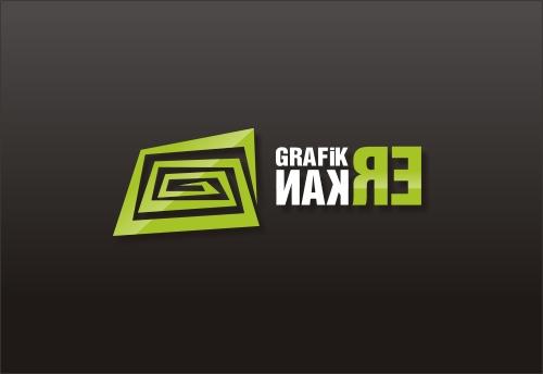 GrafikERkan.com Logo Tasarım