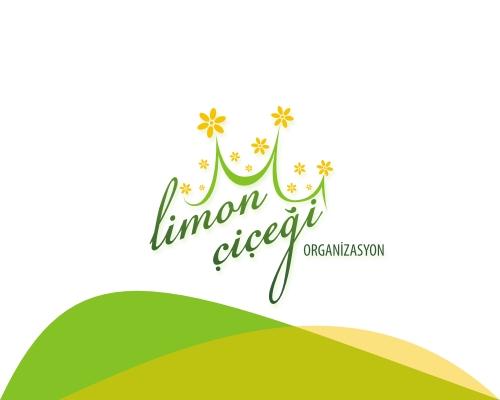 Limon Çiçeği Organizasyon Logo Tasarım
