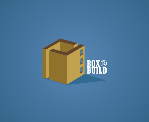 Box Build Logo Design