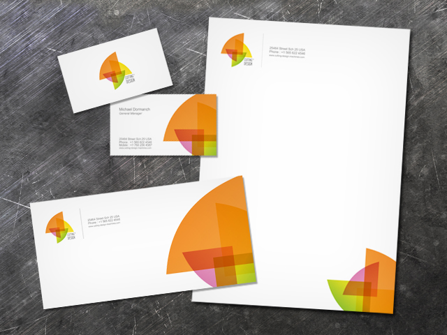 Cutting Design Machines Corporate Identity Design