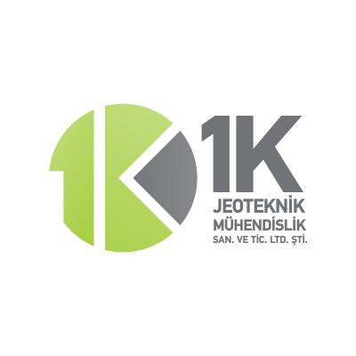 1K Jeoteknik Mühendislik Logo Tasarım