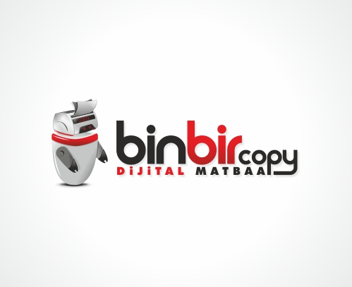 Binbir Copy Center Logo Tasarım