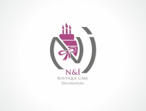 N&İ Boutique Cake Decoration Logo Design