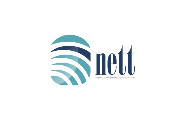 Nett Yatırım Gayrimenkul Logo Tasarım