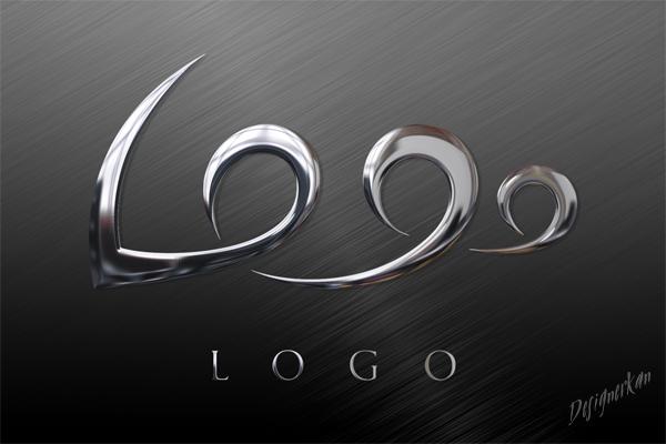 Metal Logo Çalışması