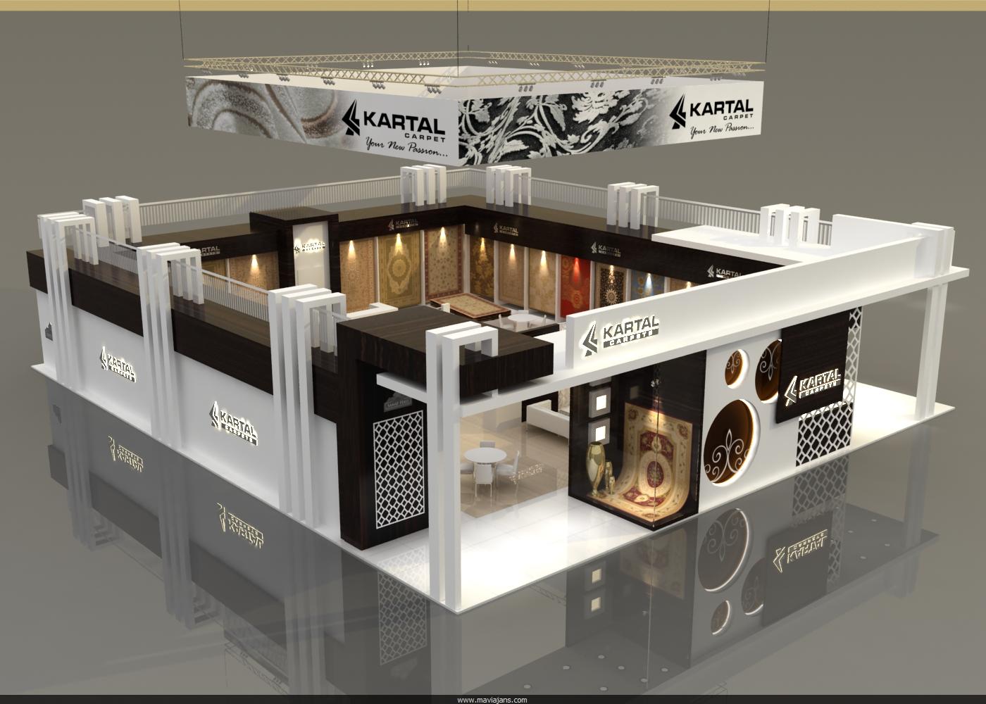 Fuar stand tasar m - Design fair ...