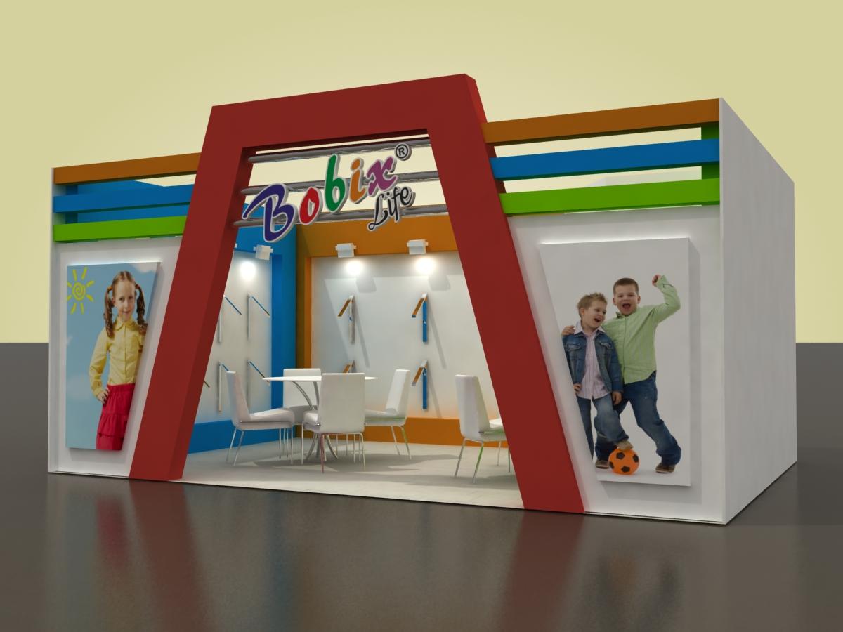 PENTEX Fuarı 2014 Gaziantep Stand Tasarımları