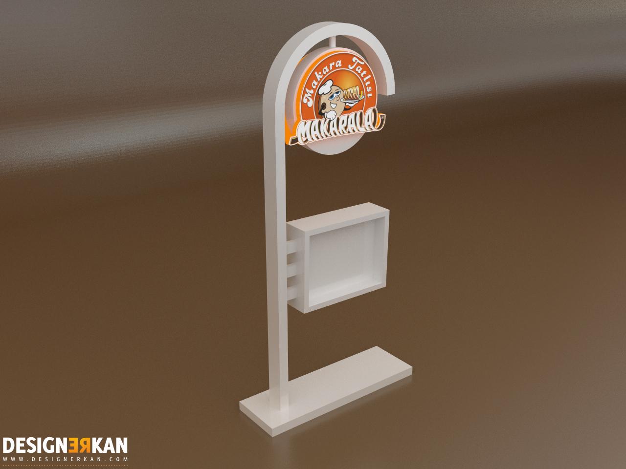 AVM Stand Tasarım 3D