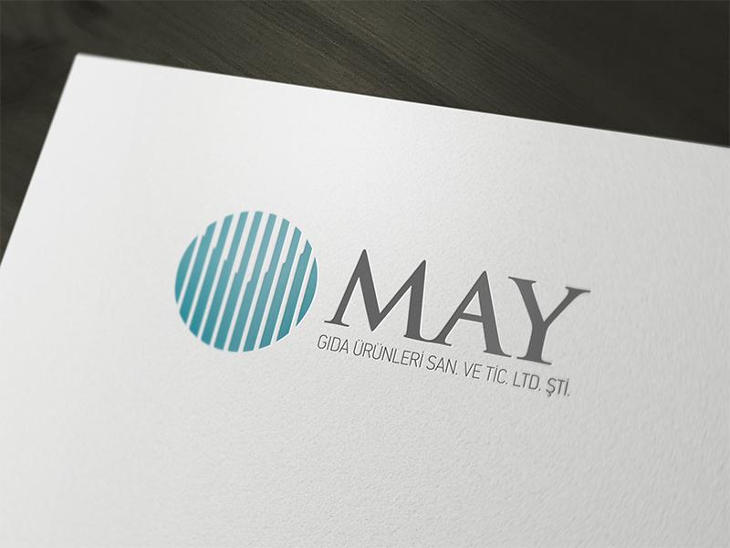 MAY Gıda Logo Tasarım