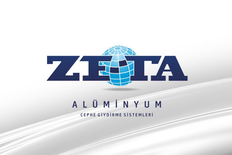 ZE-TA Alüminyum Cephe Giydirme Sistemleri Logo Tasarım