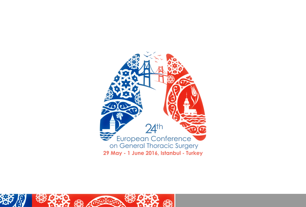 24th European Conference on General Thoracic Surgery Logo Design