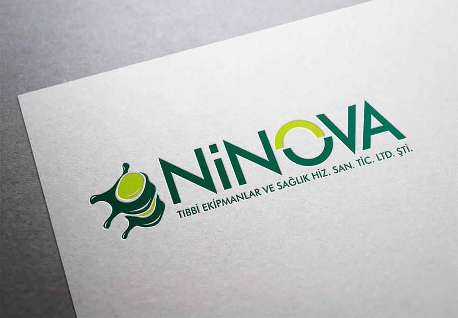 Ninova Medikal Logo Tasarımı